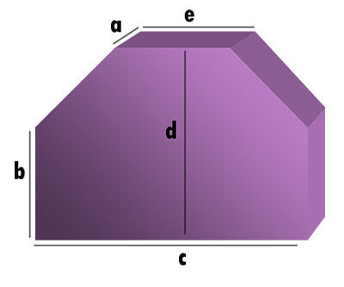 Kofferraum Hundekissen - Rechteck mit 2 Schrägabschnitten