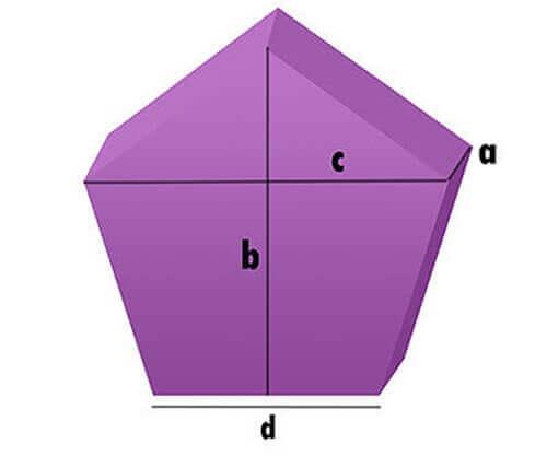Fünfeck - Schaumstoff-Zuschnitt