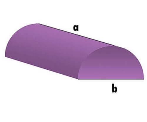 Schaumstoff-Zuschnitt - halbe Rolle