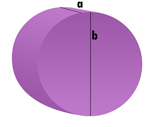 Schaumstoff-Zuschnitt - Kreis-Scheibe